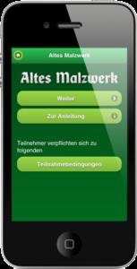 Startseite App