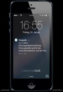 Push Nachricht auf dem gesperrten Bildschirm